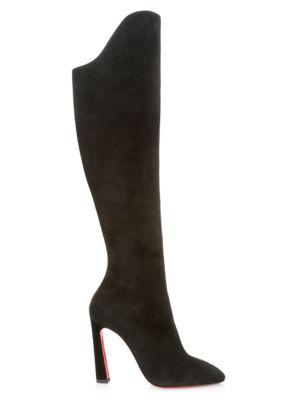 Eleonor Botta 100 Suede Heel Boots
