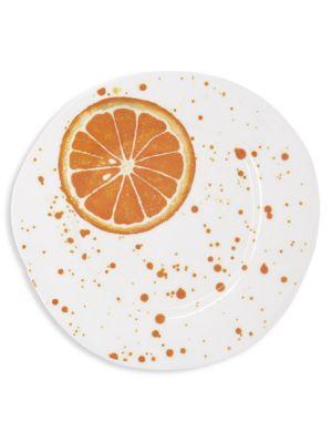 Melamine Fruit Orange Salad Plate