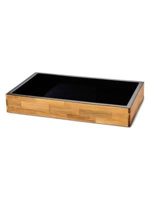 Bamboo Veneer Bath Tray
