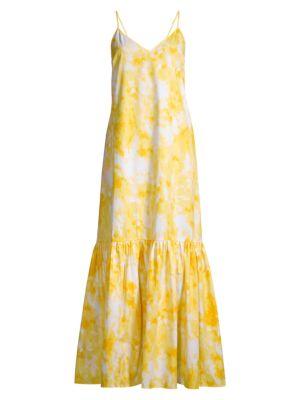 Asymmetrical Sleeveless Houndstooth Dress
