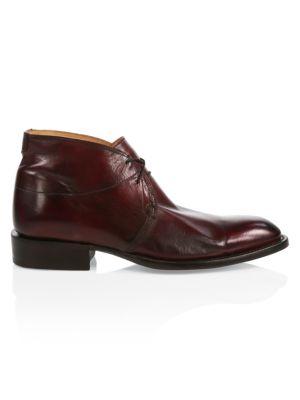 Evan Leather Chukka Boots