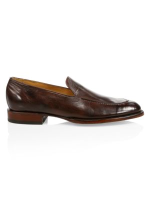 Regis Leather Penny Loafers