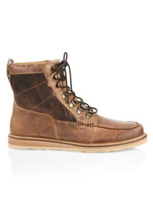 Uprange Lace-Up Leather Boots