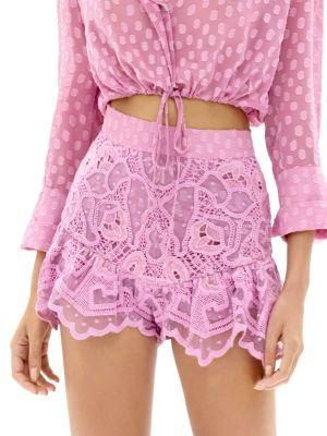 Inka Mixed Lace Shorts