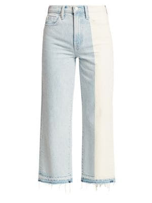 Alexa High-Rise Straight Cropped Jeans