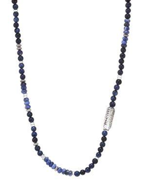 Dakota Sterling Silver & Semi-Precious Multi-Stone Beaded Necklace