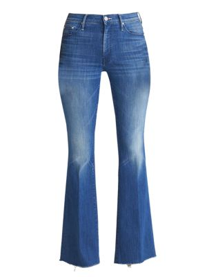 Weekender Fray Flare Jeans
