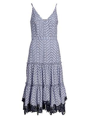 Samara Eyelet Midi Dress