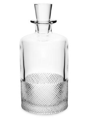 Diamond Glass Decanter