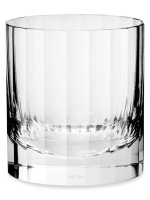 Fluted Single Old Fashioned Glass