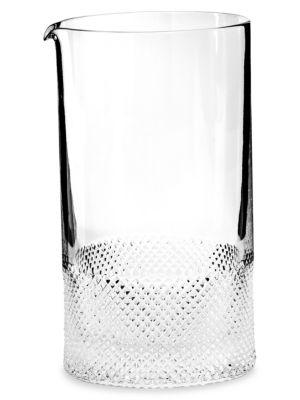 Diamond Crystal Mixing Glass