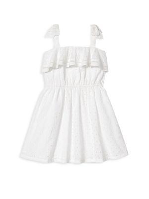 Little Girl's & Girl's Eyelet Dress