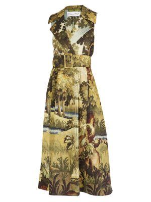 Sleeveless Trench Dress