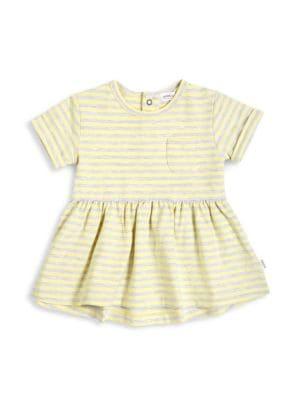 Baby's, Little Girl's & Girl's High-Summer Striped Dress