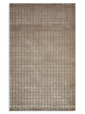 Dune Contemporary Loom Knotted Wool-Blend Area Rug