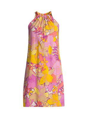 Rancho Silk-Blend Dress
