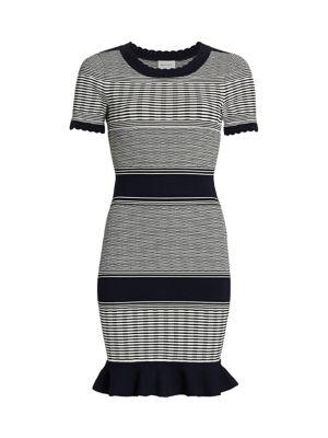 Striped Wave Dress
