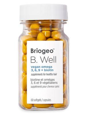 B.Well Vegan Omega 3,6,9+ Biotin Hair Supplement