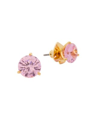 Brilliant Statements Crystal Trio Prong Studs