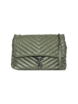 Jumbo Edie Quilted Nylon Shoulder Bag