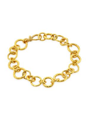 22K Yellow Gold Hoopla Bracelet