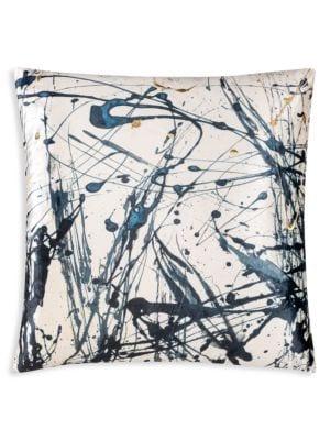 Arles Digital Print Velvet Pillow