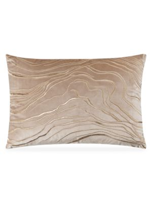 Zeta Metallic Wave Pillow