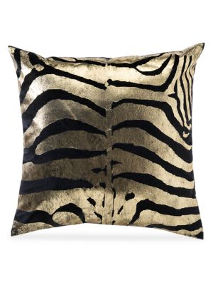 Rica Foil Animal Print Pillow