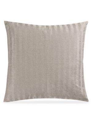 Prato Metallic Foil Velvet Pillow