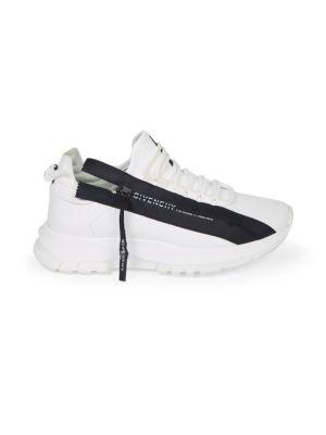 Spectre Side-Zip Leather Sneakers