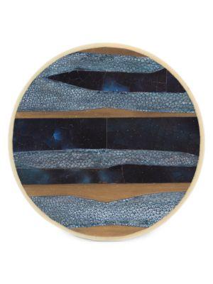 Nautical Stripe 2-Piece Coaster Set
