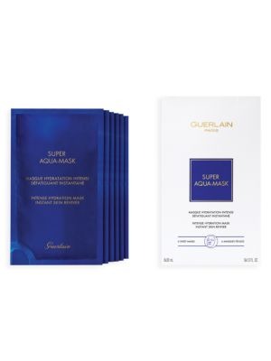 Super Aqua Hydrating 6-Piece Sheet Mask Set
