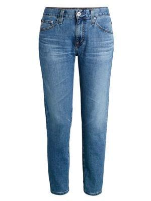 Ex-Boyfriend Mid-Rise Slim-Fit Jeans