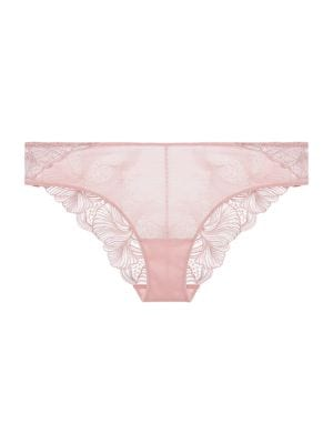 Embroidered Lace Briefs