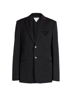 Grain de Poudre Wool Jacket