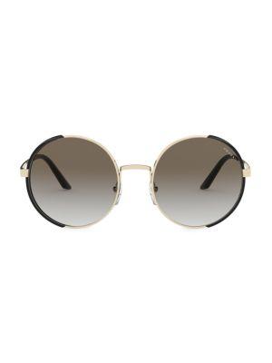 57MM Round Sunglasses