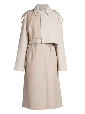 Belted Convertible Trench