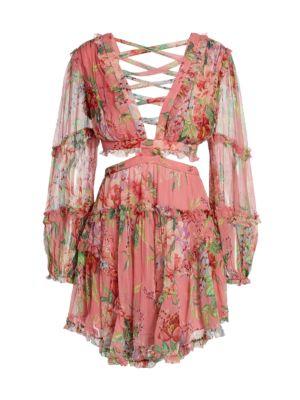 Bellitude Floating Cutout Dress