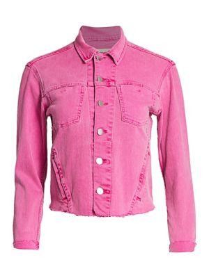 Janelle Slim Raw Jacket