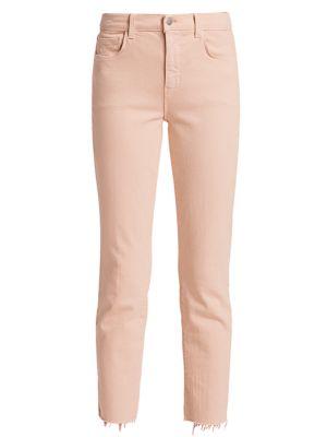 Sada High-Rise Crop Slim Jeans