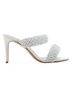 Alessia Woven Stiletto Sandals