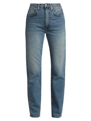 Studio High-Rise Straight-Leg Jeans