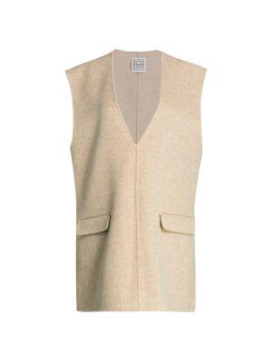 Alcoba Sleeveless Wool & Cashmere Gilet