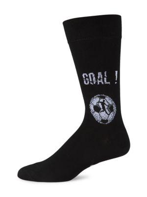 Soccer Cotton Dress Socks