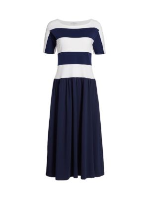 Striped Dolman Dress