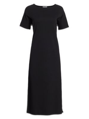Split Caftan Dress