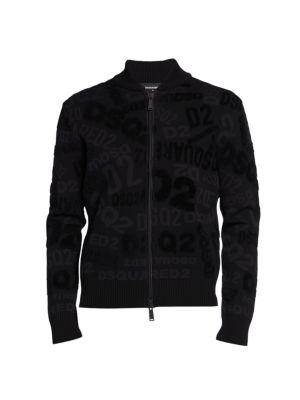 Allover Logo Zip Jacket