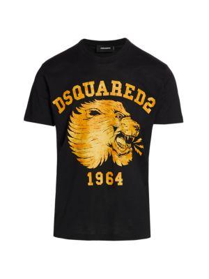 Lion Logo Graphic T-Shirt