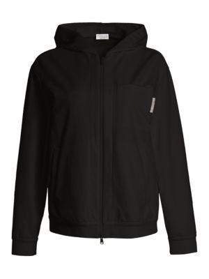 Felpa Zip-Front Jacket