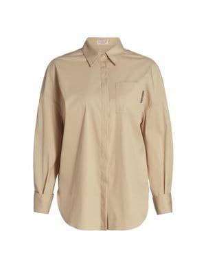 Monili-Pocket Button Down Shirt